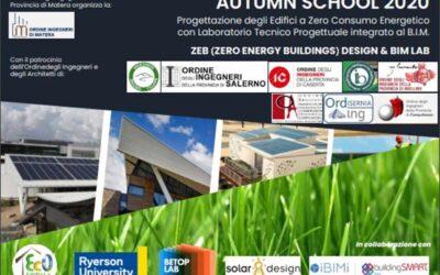 Autumn School 2020: Corso FAD (inizio 05/11/2020)