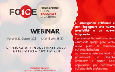 Applicazioni Industriali della Intelligenza Artificiale (22/06/21)