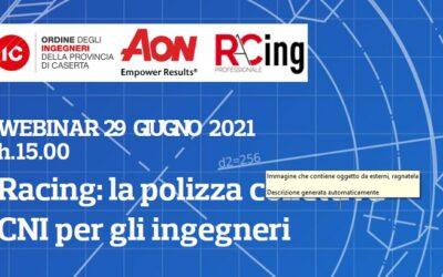 Racing: la polizza collettiva CNI per gli ingegneri (29/06/21)