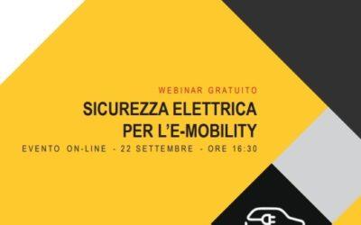 Sicurezza Elettrica per l'e-mobility (22/09/21)